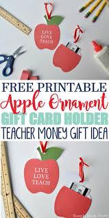 gift card holder teachers gift