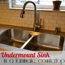 karran sink laminate countertops