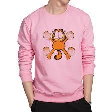 cartoon garfield high kpop streetwear