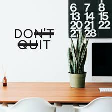 Jeyfel Decals Fitness Wall Decals Just Don T Quit Just Do It Vinyl Wall Art For Sale Online Ebay