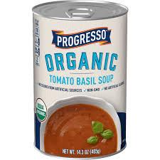 organic tomato basil canned soup