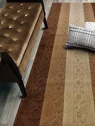 custom size trellis hallway runner rug