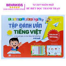 Sách Tập Đánh Vần Tiếng Việt Cho Trẻ Từ 4 Đến 6 Tuổi Phiên Bản Mới ...