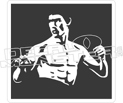 Bruce Lee Decal Sticker Decal Max
