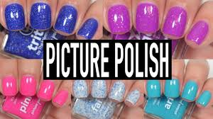 picture polish new shades swatch