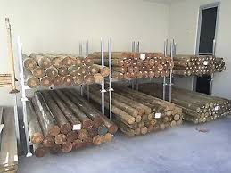 Treated Pine Round Precision Koppers Logs H4 Timber Fence Posts Other Home Garden Gumtree Australia Caloundra Area Caloundra West 1110649435