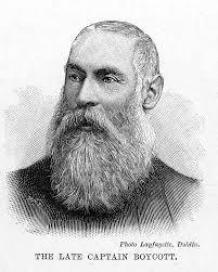 CHARLES CUNNINGHAM BOYCOTT (1832-1897). English estate ...