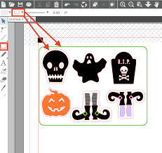 How To Make Print And Cut Sticker Sets Silhouette Studio V4 Tutorial Silhouette School