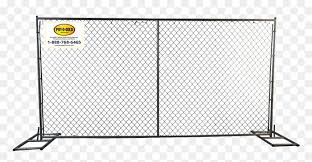 Temporary Fence Crowd Control Chain Link Fence Hd Png Download Vhv