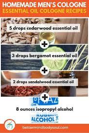 11 essential oil cologne recipes