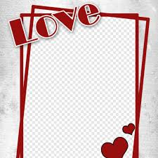love photo frame png hd png