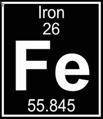 Periodic Table Iron Element Car Sticker Black Dog Metal Arts