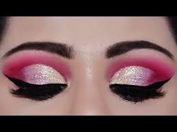 loose glitter indian bridal eye makeup