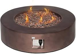 cosiest outdoor propane fire pit