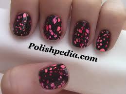 water spotted nails polishpedia nail