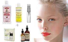 diy makeup primer and setting spray