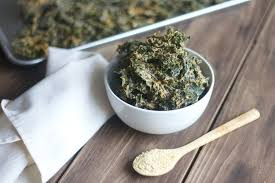 easy cheesy kale chips dehydrated