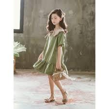 Đầm bé gái nước ngoài trong bộ váy bé trai thời trang hè 2019 mới công chúa  đầm retro trẻ em váy đi biển màu đỏ