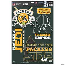 Nfl Green Bay Packers Star Wars Decals Discontinued