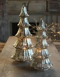 12 inch lighted mercury glass