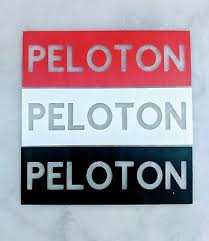 3 Pack Peloton Decal Stickers