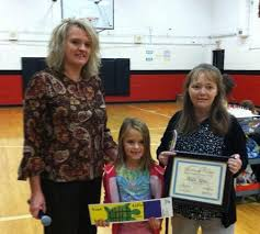 Addie King wins in bookmark contest - The Cannon Courier