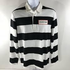 rugby shirt long sleeve black