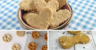 10 recipes for homemade dog treats