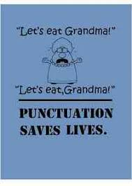 Let S Eat Grandma Punctuation Saves Lives Funny Classroom Wall Decal Vinyl 793118130812 Ebay