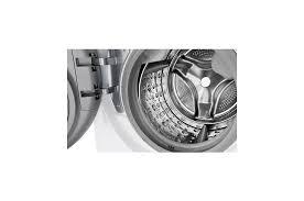 LG FG1405H3W1 : Inverter Direct Drive™ Máy giặt sấy lồng ngang 10.5kg  (Trắng) FG1405H3W1