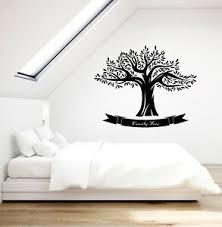 Vinyl Wall Decal Family Tree Oak Nature Logo Decor Living Room Stickers 3564ig Ebay