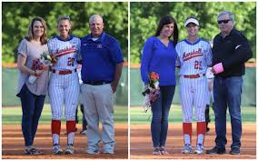 Seniors Young and Murt honored before Friday's first pitch ...