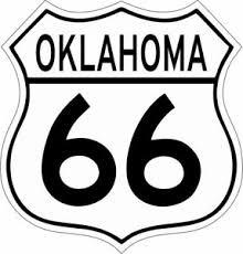 Oklahoma Route 66 Vinyl Decal Sticker Ebay