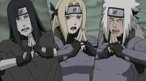 Orochimaru, Tsunade And Jiraiya - Legendary Three Ninja Photo ...