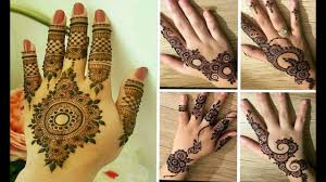 mehndi design easy for kids full hand