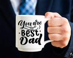 Father S Day Best Dad Vinyl Decal Father S Day Gift Sticker Dad Ebay