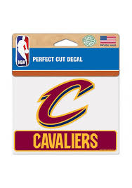 Cleveland Cavaliers Perfect Cut Auto Decal Maroon 5715673