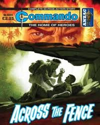 Across The Fence Commando Comics Wiki Fandom