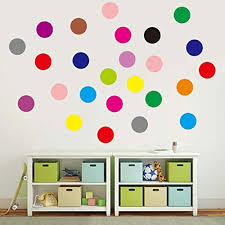 Shop Set Of 102 Polka Dot Vinyl Circles Dots Wall Art Wall Vinyl Overstock 17801592