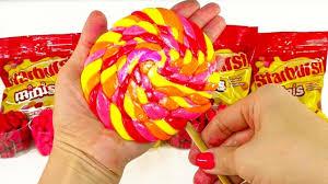 diy starburst giant lollipop 4