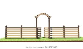 Fence Arch Images Stock Photos Vectors Shutterstock