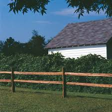 Unbranded 4 In X 4 In X 4 Ft 2 Hole Western Red Cedar Split Rail Fence Line Post 146249 The Home Depot