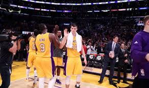 Croatian Teenager Ivica Zubac Creates Los Angeles Lakers History ...