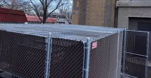 Commercial Chain Link Fencing Company Peerless Fence