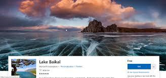 lake baikal theme for windows 10