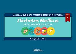 diabetes mellitus nclex rn practice
