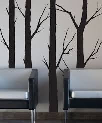 Black Forest Trees Wall Decal Removable Wall Art Tree Wall Decal Tree Wall