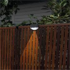 Arlec Led Solar Fence Light Bunnings Warehouse
