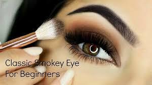 beginners smokey eye makeup tutorial