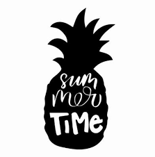 Black Sliver Funny Summer Time Pineapple Car Sticker Vinyl Car Body Bumper Window Decoration Car Accessories Decals C727 Car Stickers Aliexpress